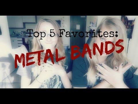 Top 5 Favorite Metal Bands || Metal Mondays