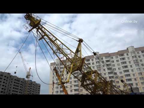 Как собирают башенный кран