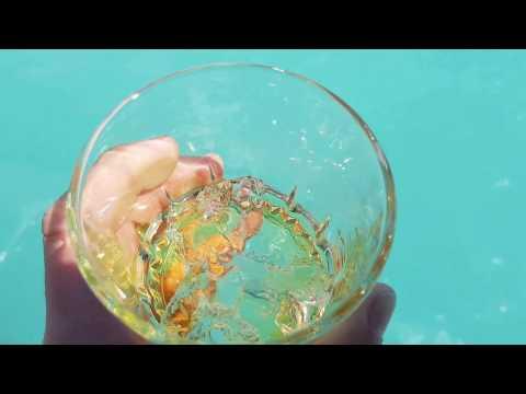 Whisky on the rocks at O´Higgins Glacier