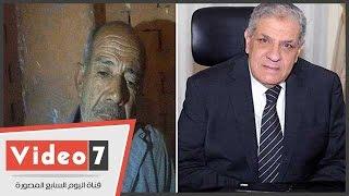 """المواطن محمد خلف لـ """" محلب """" : عايز ازود معاشي علشان اقدر أعيش"""