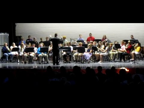 2019 05-15 Gillespie Middle School Band