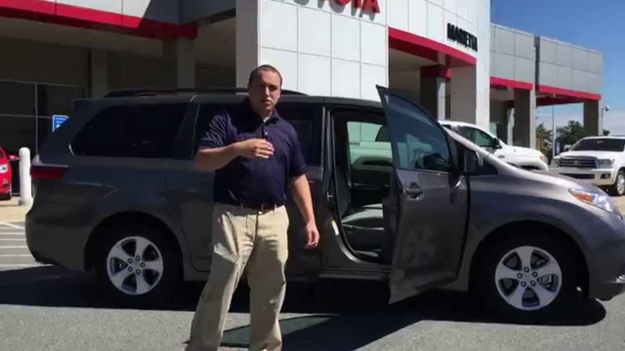 New 2015 Toyota Sienna Le 8 Passenger Presented By Evan