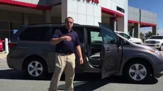 new 2015 toyota sienna le 8 passenger presented by evan jackson