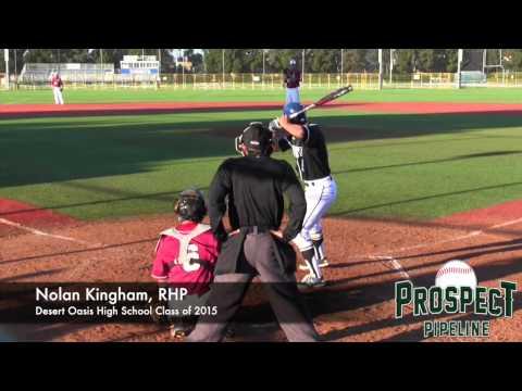 Nolan Kingham Prospect Video, RHP, Desert Oasis High School Class of 2015 #mlbdraft