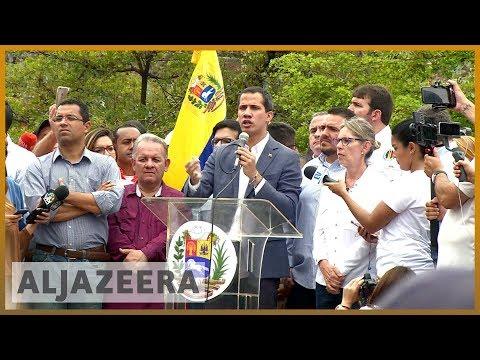 🇻🇪 Venezuela's Guaido 'to seek US military support' in bid to topple Maduro   Al Jazeera English