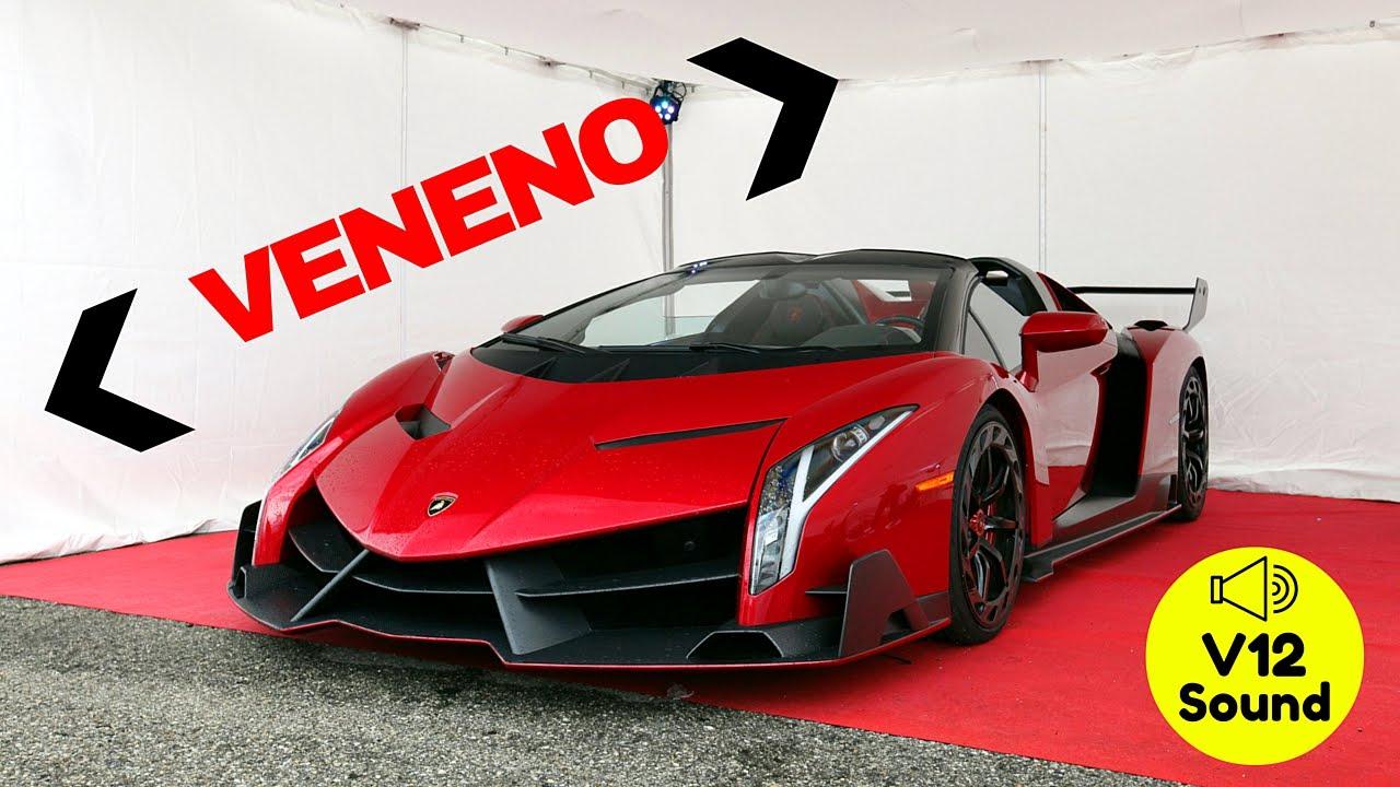 33m Lamborghini Veneno Roadster At Misano Circuit V12 Screaming Engine