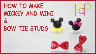 2 Simple and Trendy Stud Earring From Quilling | BASIC | PQP #008