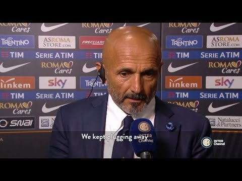 Roma-Inter, quotes from Luciano Spalletti