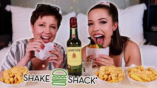 Shake Shack DRUNK-bang With My Mom!