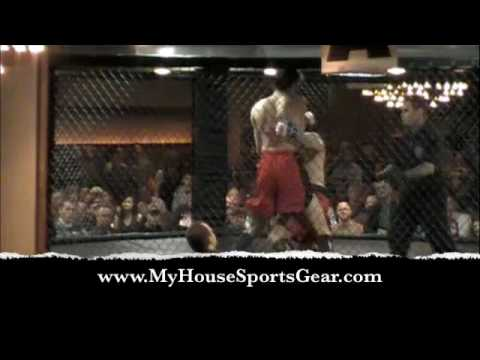 James Rodriguez vs Anthony Russomano PA Cage Fight 3 MMA Wilkes Barre PA