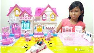 Mainan Anak Rumah Rumahan 💖 My Happy Family Sweety Home 💖 Let's Play Jessica