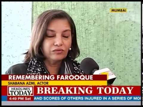 Shabana Azmi talks about Farooq Shaikh