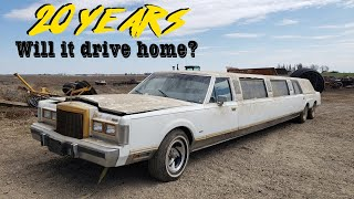 Can We Fix an ABANDONED 35 Foot Limo?! - EFI Revival