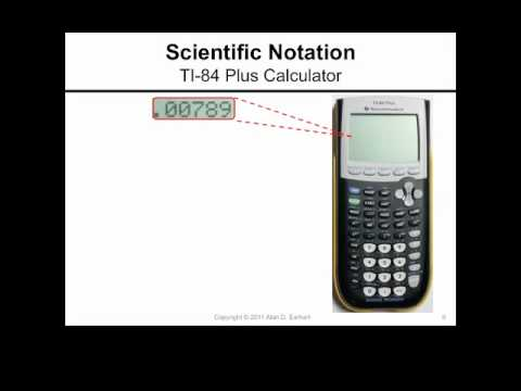 Scientific Notation And The Ti 84 Plus Calculator Youtube