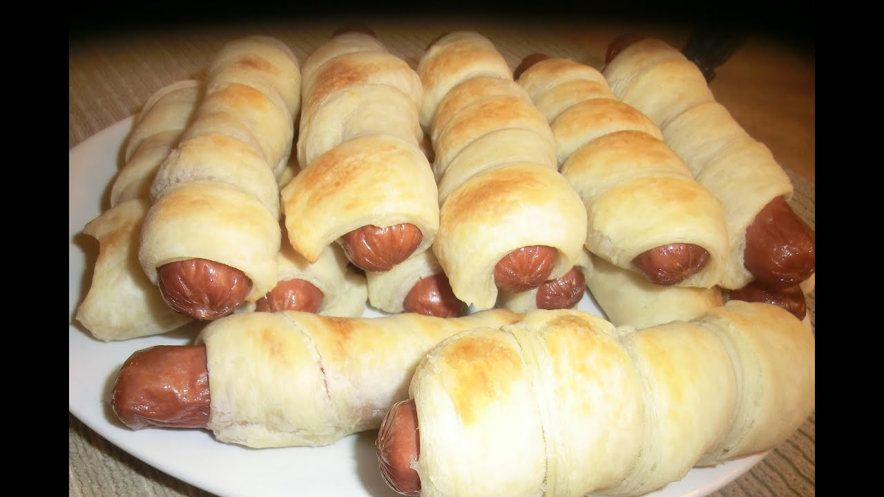 Hot Dog Wrapped In Dough Recipe