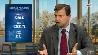Telewizja Republika - Marek Zuber (ekonomista) - Gospodarka na Dzień Dobry 2017-07-17