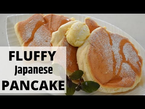 How To Make ★Fluffy Japanese Pancake★スフレパンケーキの作り方(EP39)