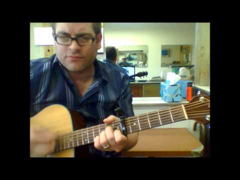 How To Play Danger Zone By Kenny Loggins On Acoustic Guitar Made