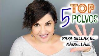 TOP 5 POLVOS PARA SELLAR EL MAQUILLAJE - LOW COST y ALTA GAMA ♥️ ⎥Monica Vizuete