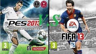 Wii PES 2013 Comparación Wii U FIFA 2013 | Videojuegos De Fútbol Para Consolas Nintendo
