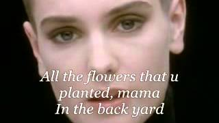 Nothing Compares 2 U (Lyrics) - Sinead O'Connor
