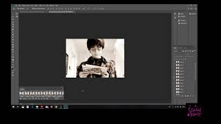 Adding a GIF to an Image in Photoshop