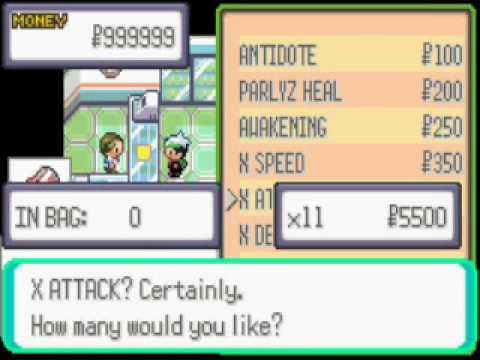 pokemon ruby how to get master balls no cheats