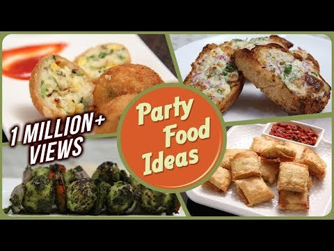 Party Food Ideas - Quick And Easy To Make Party Starters / Snack / Dips Recipe