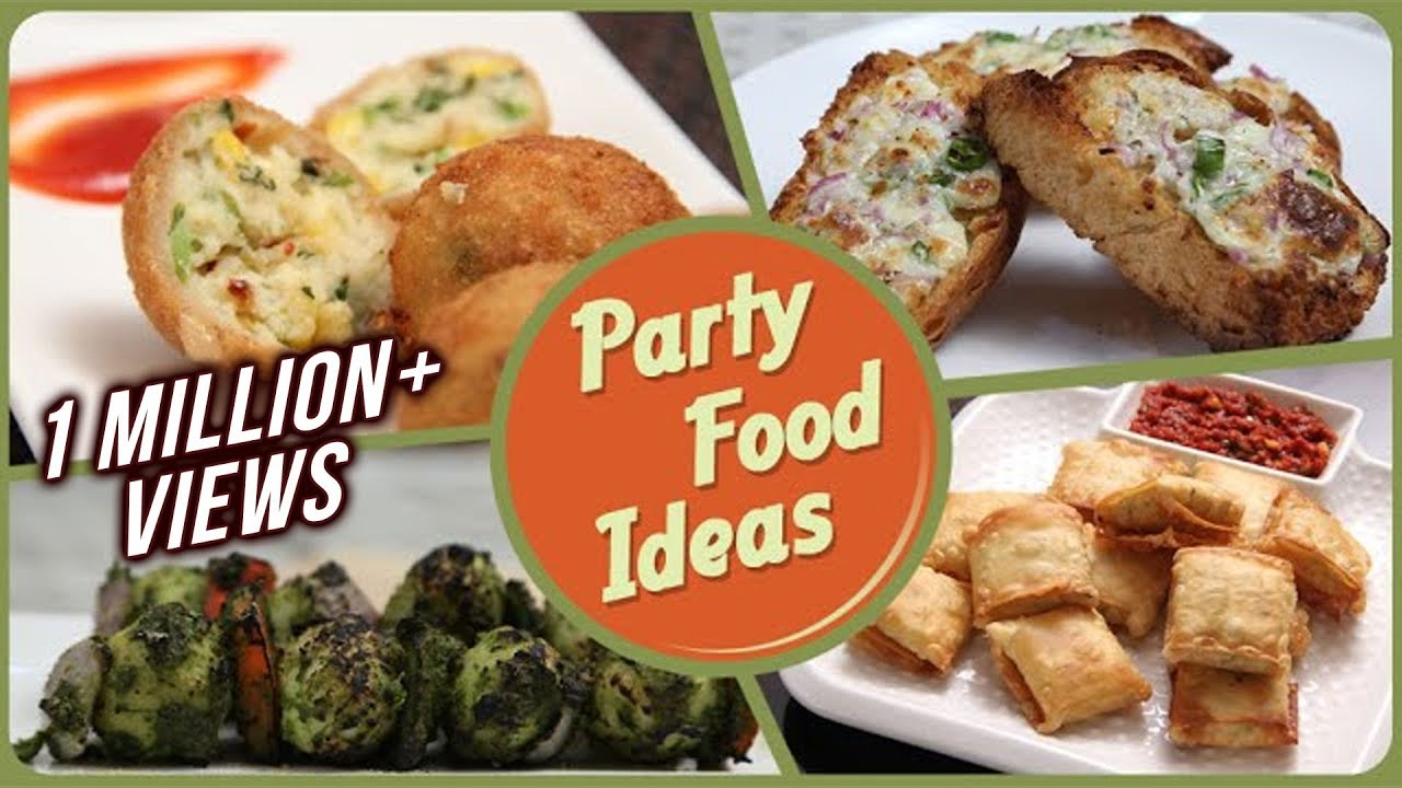 Party Food Ideas Quick And Easy To Make Party Starters Snack Dips Recipe