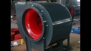 Часть 9. Радиальный вентилятор со спиральным корпусом(, 2017-09-03T12:13:14.000Z)