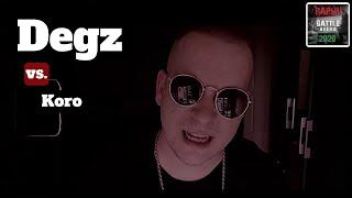 Download lagu Degz - Berlinből a Pokolba 🆚 Koro   Rap.hu Battle Aréna 2020 Elődöntő 🔥