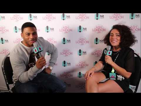 Nelly hangs with Ash / Backstage #RNBFRIDAYS