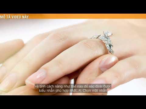 Kinh nghiệm lựa chọn khi mua nhẫn đính hôn