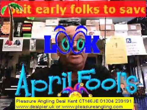 fresh bait daily @ pleasure angling tackle shop deal kent 1st april