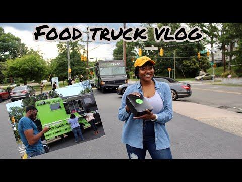 A Vlog: Mikes Vegan Cookout Food Truck + My Subpar Durham, NC Salon Visit + Meet My Best Friend