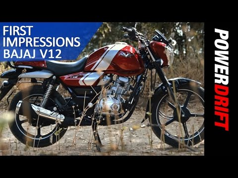 Planning to buy the Bajaj V12? Here's what you should look for!