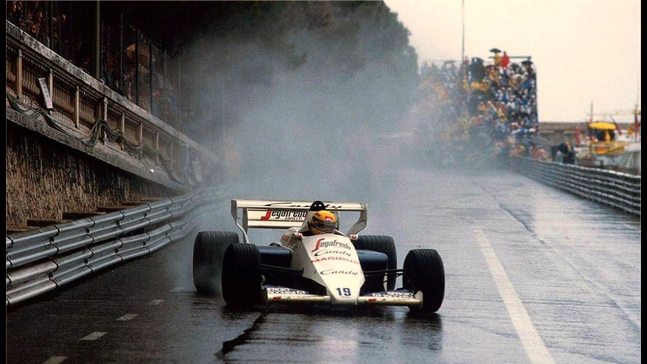 Image result for monaco gp 1984