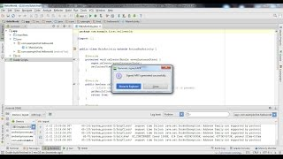 Android tutorials: Export your app from Android Studio thumbnail