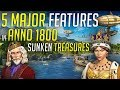5 New Major Features in ANNO 1800 Sunken Treasures