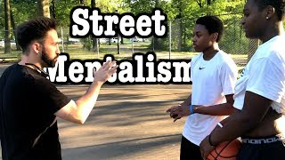 Street Mentalism   Kid Runs Away!