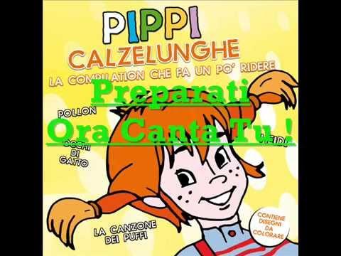 Pippi Calzelunghe: Sigla (Canzone + Base Musicale per Karaoke)