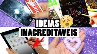 DIY : IDEIAS MALUCAS QUE VOCÊ PRECISA TESTAR   SEM GASTAR NADA #2