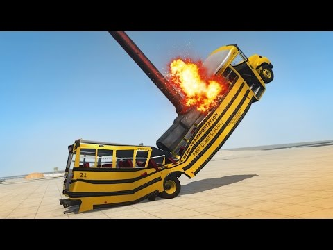 ULTIMATE SLEDGEHAMMER DESTRUCTION! Crushing & Launching Cars! (BeamNG Drive Gameplay)