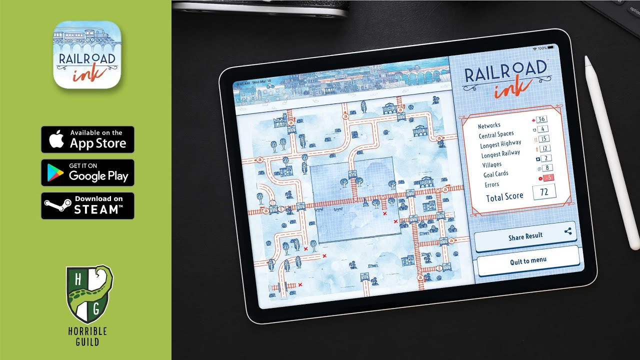 Railroad Ink Challenge | Available Now