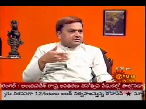 N N Murthy speaks on Sparrows Disappearance Gemini TV Interview (Part-2)