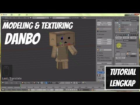 Tutorial Dasar Blender 3d Untuk Pemula Cara Membuat Karakter Danbo
