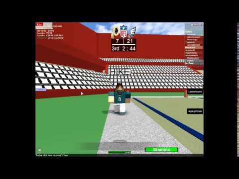 Roblox Nfl Football Patriots Vs Steelers Roblox Football Game Nfl Animation