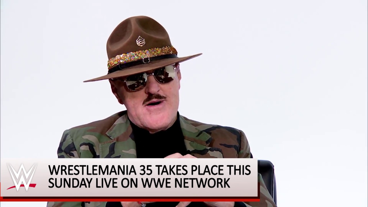 Sgt. Slaughter on WrestleMania 35 and The Undertaker