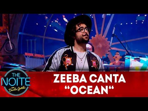 Exclusivo para web: Zeeba canta Ocean  The Noite 231118