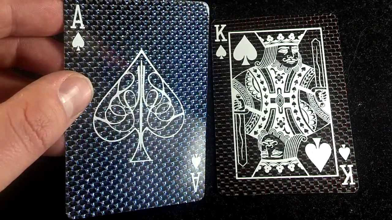 Carbon Fiber Playing Cards Stretch Goals Red And B YouTube